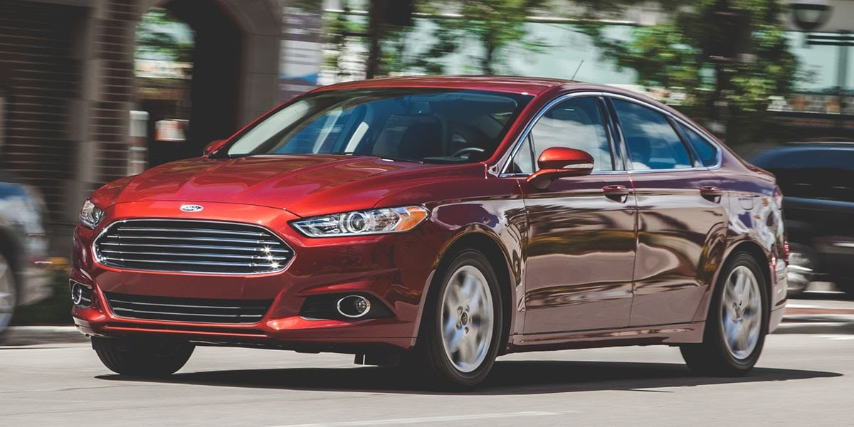 Photograph of 2014 Ford Fusion