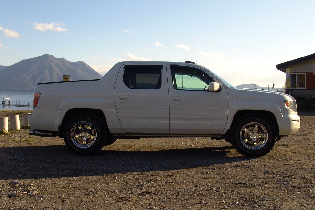 Photo of a Honda Ridgeline