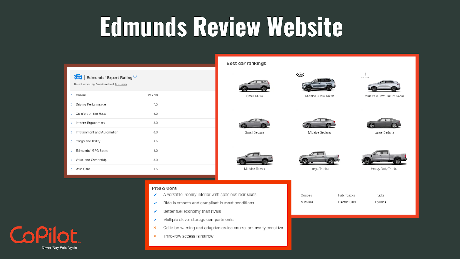 use car review websites before buying a car