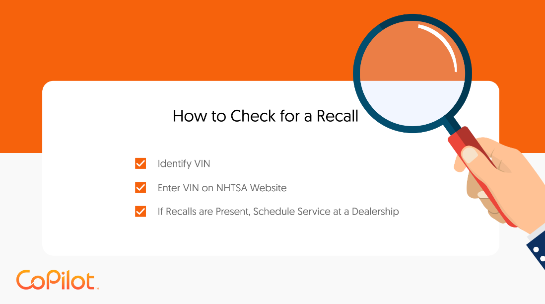 how to check for a recall