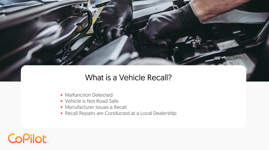 what is a vehicle recall?