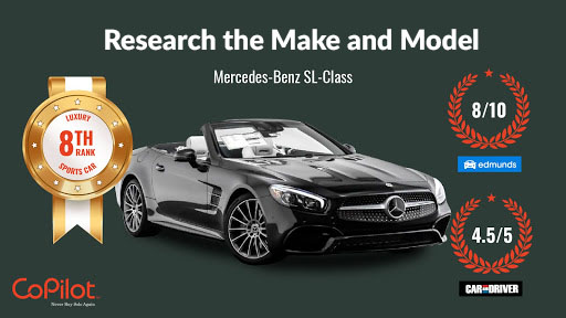 research the the make and model of a car before buying
